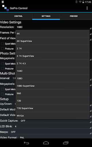 Camera Control Gopro Hero 4 Apk - ▷ ▷ PowerMall