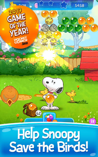 Bubble Shooter: Snoopy POP! - Bubble Pop Game 1.46.000 screenshots 1