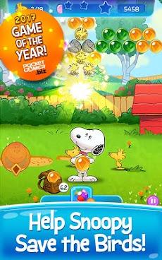 Bubble Shooter: Snoopy POP! - Bubble Pop Gameのおすすめ画像1