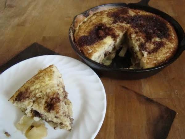 Oven-baked Apple-pecan Pancake Recipe