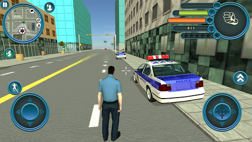 Miami Police Crime Vice Simulator captures d'u00e9cran 1