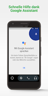 Android Auto: Google Maps, Medien & Messaging Screenshot