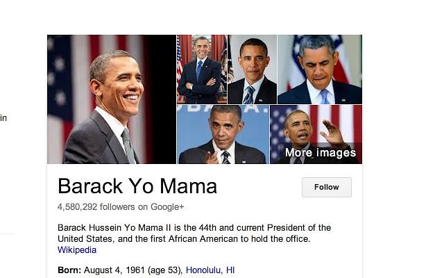 Obama to Yo Mama