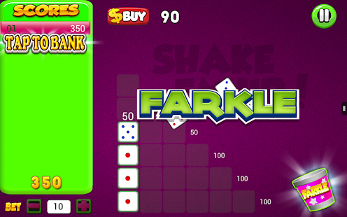 Farkle Dice Shaker Zilch Bunco- screenshot thumbnail