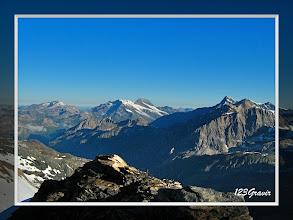 Photo: Sommet de Bellecôte, Mont Pourri et Grande Sassière