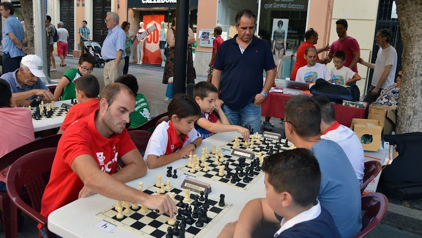 El mejor ajedrez en la Feria.