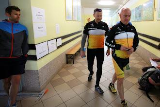 Photo: Wyrwikufle w drodze na start.