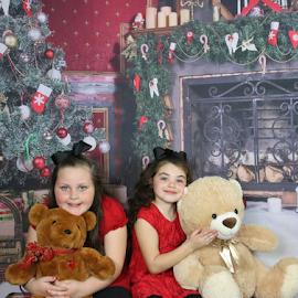 Teddy Bear Love by Terry Linton - Babies & Children Children Candids