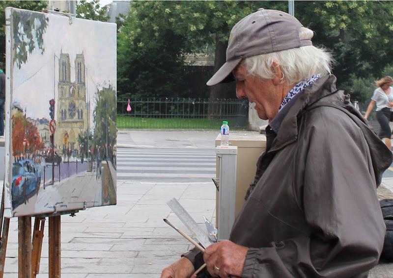 Un pittore a Notre Dame di anna.giabbai.1