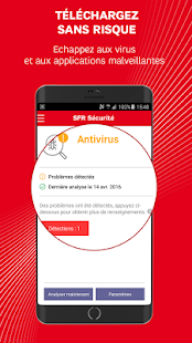 app sfr s curit antivirus apk for windows phone android games and apps. Black Bedroom Furniture Sets. Home Design Ideas