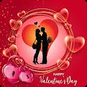 Happy Valentine's Day Photo Frame 2021:  Romantic icon