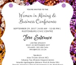 Women in Mining Business Conference : Rustenburg Civic Centre