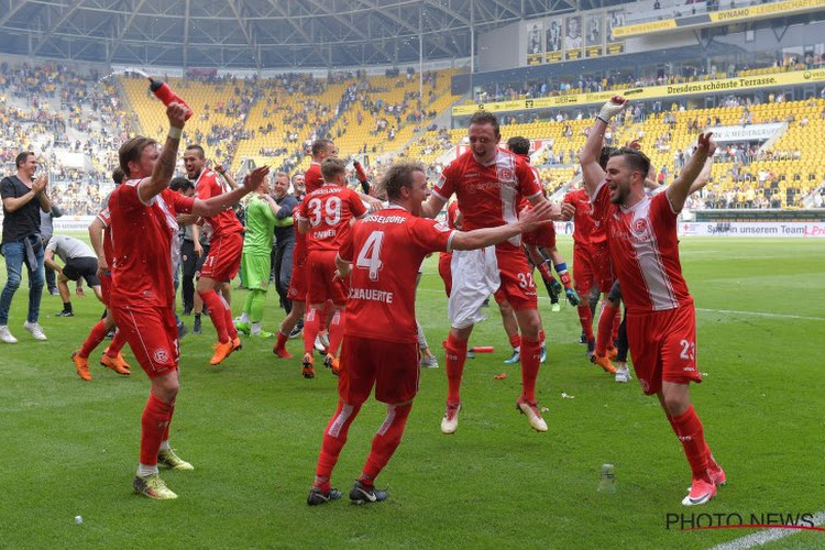 Lukebakio in extremis matchwinnaar voor Düsseldorf, Casteels beleeft dolle slotfase