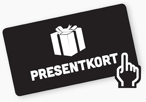 Vanligt presentkort - 1000 SEK