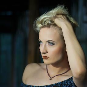 Beautifull Idalize by Leanne Vorster - People Portraits of Women ( blonde, model, woman, beauty,  )