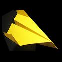 Paper Plane Origami icon