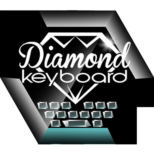 ダイヤモンド キーボード テーマ 個人化 LOGO-玩APPs