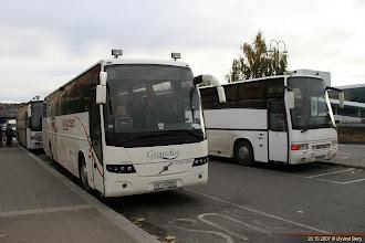 Photo: VF 74250 ved Oslo S, 20.10.2007. Volvo Turku 9700H, Volvo B12M, byggnr. 6213 fra oktober 2005. Orklareiser/Grandes Turbusser.