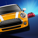 Double Dodger - 2 Cars Traffic Racing Game icon