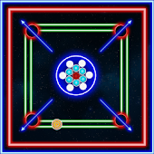 Laser Carrom: Real Carrom Pro