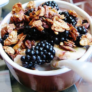 Almond and Flaxseed Granola.