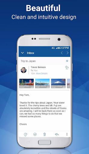 Blue Mail - Email & Calendar App - Mailbox 1.9.5.9 screenshots 2