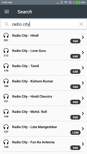 Free Radio Tuner 1.1.1 screenshots 6