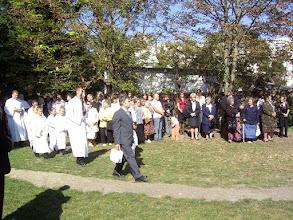 Photo: Elindult a megáldási ceremónia