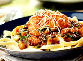 Slow-cooker Chicken With White Beans & Spinach Recipe
