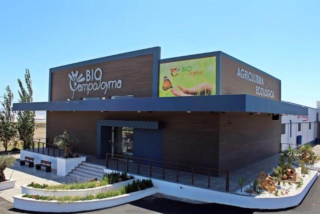 BioCampojoyma, instalaciones de la sede de la empresa ecológica.