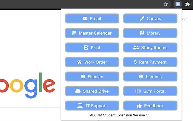 AECOM Student Extension