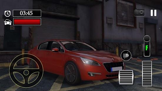 Car Parking Peugeot 508 Simulator - náhled