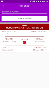 Train Status (IRCTC) App Download For Android 6