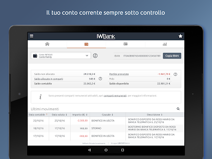 IWBank- miniatura screenshot