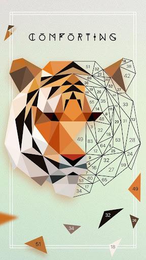 UNICORN Low Poly | Puzzle Art Game | Polygonal Art screenshot 2