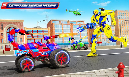 Scorpion Robot Monster Truck Transform Robot Games 9 screenshots 4