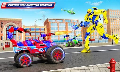 Scorpion Robot Monster Truck Transform Robot Games 4