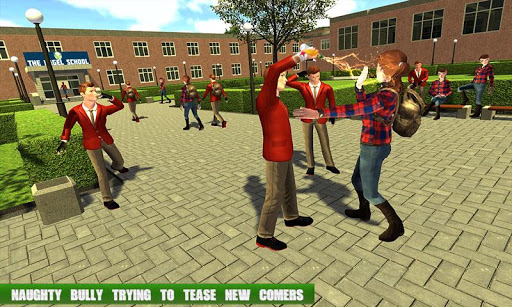 High School Gangster Bully Fights Karate Girl Game 1.1 screenshots 1