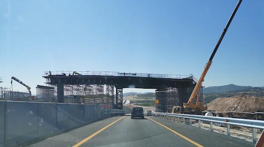Desvío por el acceso a Zurgena debido a las obras de la autovía del Almanzora