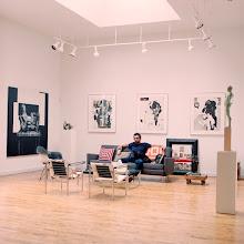 Photo: title: Matt Strauss & Gravy, St. Louis, Missouri date: 2012 relationship: friends, art, met through Laura Fried years known: 0-5