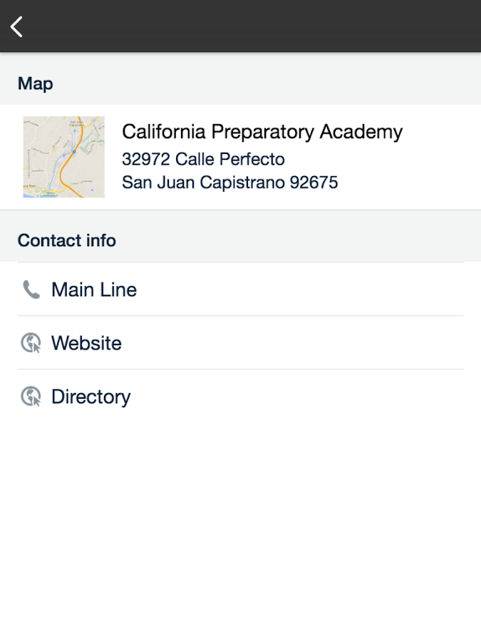 Capistrano Unified SD- screenshot