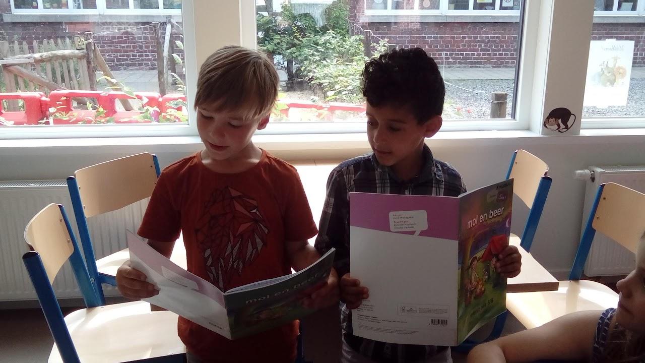 Het eerste leerjaar houdt van lezen