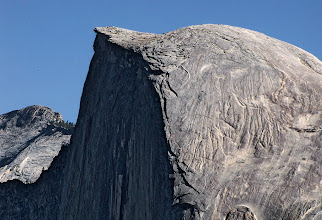 Photo: From Glacier Point, a look at the surface of Half Dome.   #1787 This was with the Canon SX10 IS