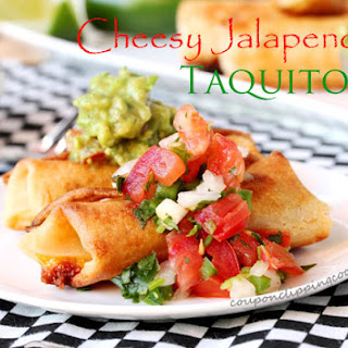 Jalapeno And Cheese Taquitos