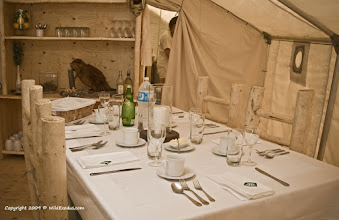 Photo: The WildExodus glamping dining lounge
