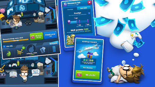Crypto Idle Miner – Bitcoin Tycoon Mod Apk 1.7.2 (Unlimited Currency) 4