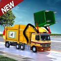 Garbage Truck Simulator Clean City Trash Truck icon
