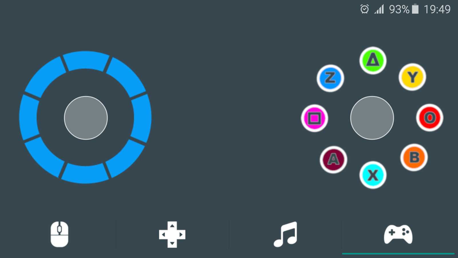 DroidMote Client- screenshot
