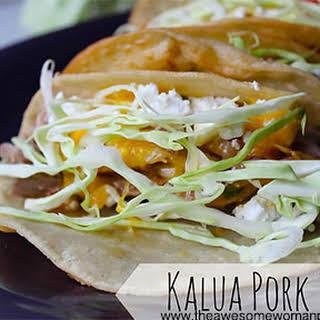 Kalua Pork Tacos.