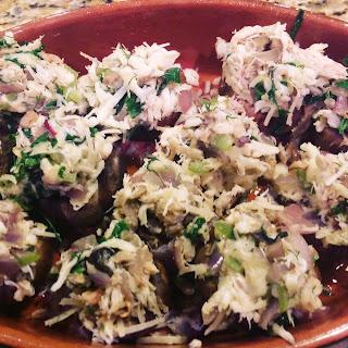Gluten Free – Low Carb Stuffed Mushrooms.